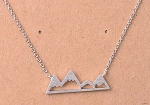 Mountain Rage Necklace SILVER (Color Options Available)