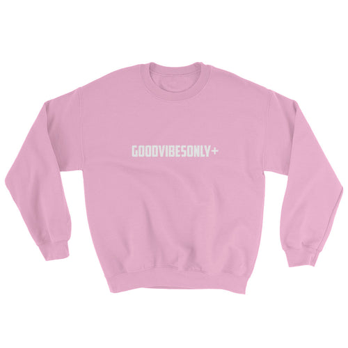She's Strong GOODVIBESONLY+ Pink Sweatshirt