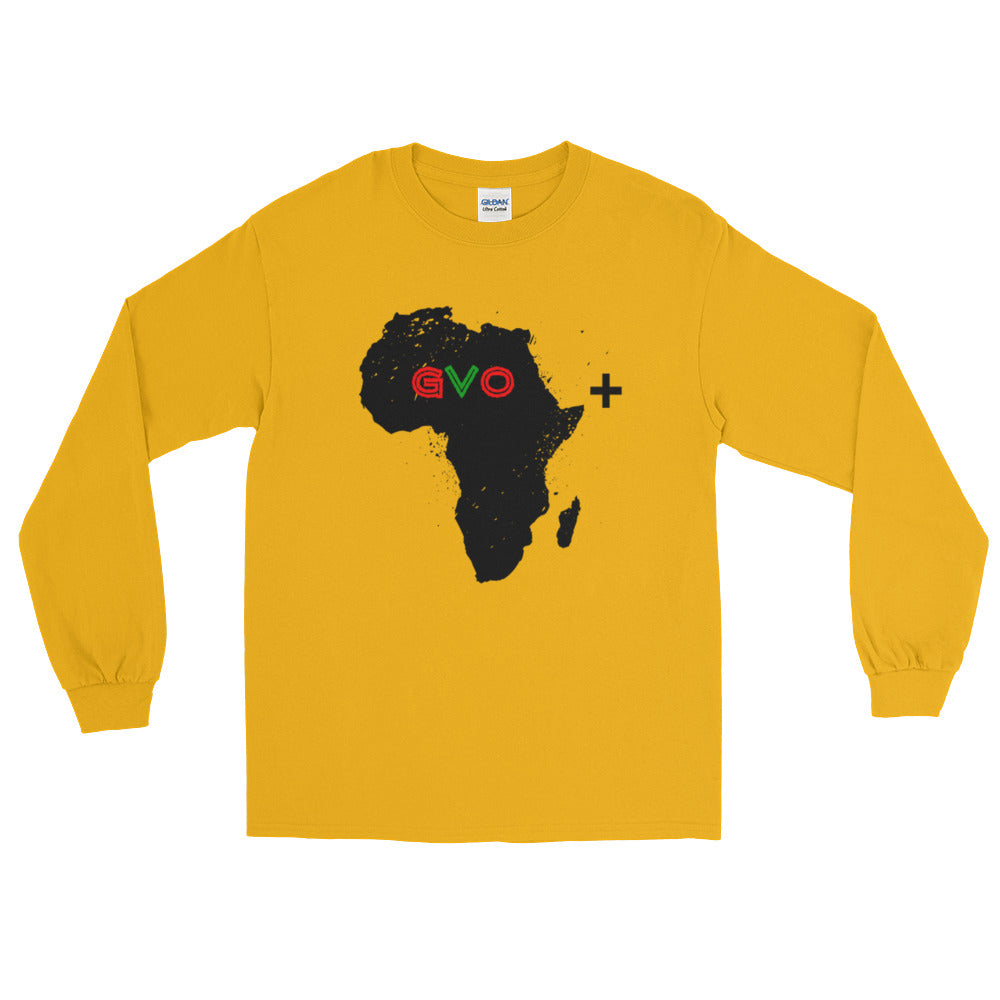 Gold Motherland Vibes Long Sleeve T-Shirt