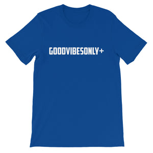 Royal Blue GoodVibesOnly+ Short sleeve t-shirt