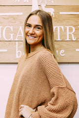 !Meet Sarah, our sales associate/model! Sarah has been with The Sugar Tree for about a year now! Sarah helps run the floor, works with orders, and models our new arrivals. Sarah has been learning the ins and outs of the store front!