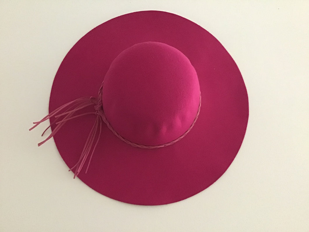 Fushia Floppy Hat