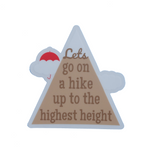 Lets Go On A Hike Sticker