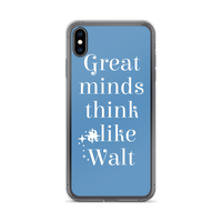 Great Minds Think Like Walt iPhone Case