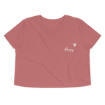 Happy Crop Tee