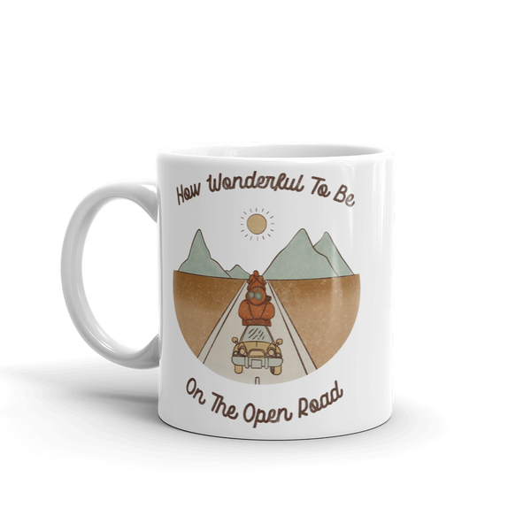 On The Open Road Mug