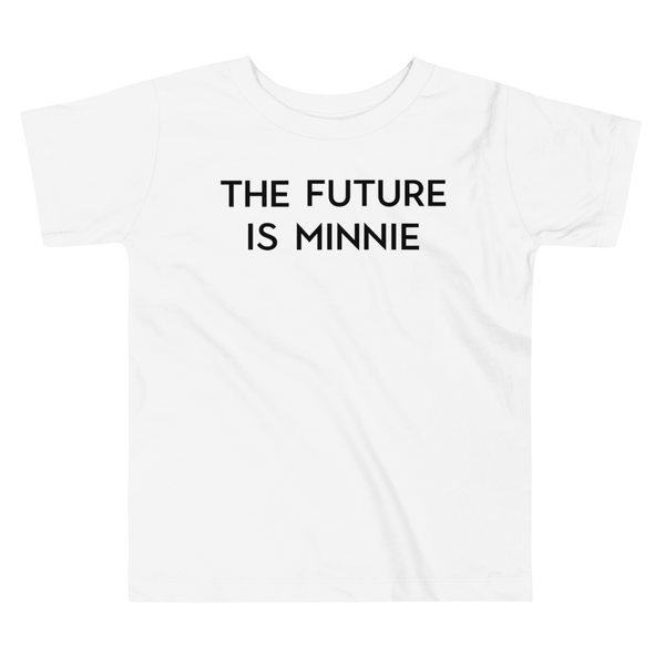 Future Is Minnie Toddler Tee