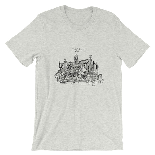 WDW Haunted Mansion Sketch Tee