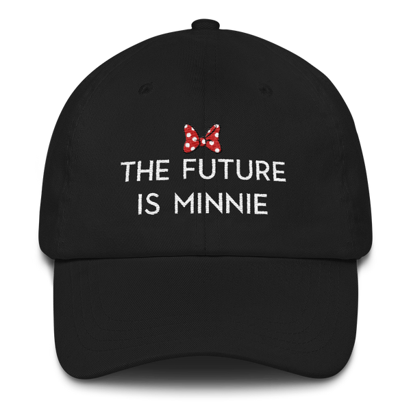 Future is Minnie Dad Hat