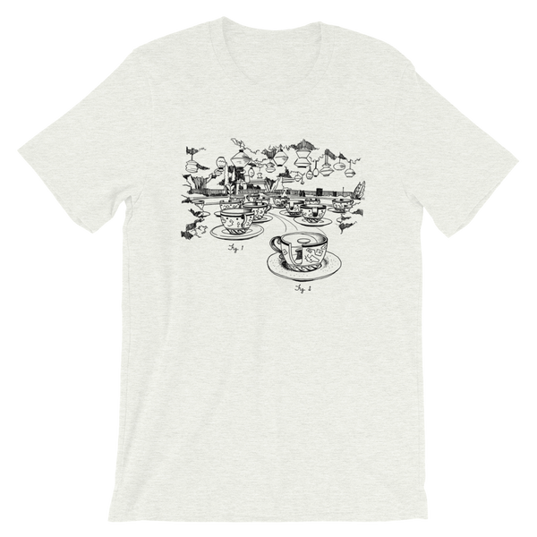 Spinning Tea Party Sketch Tee