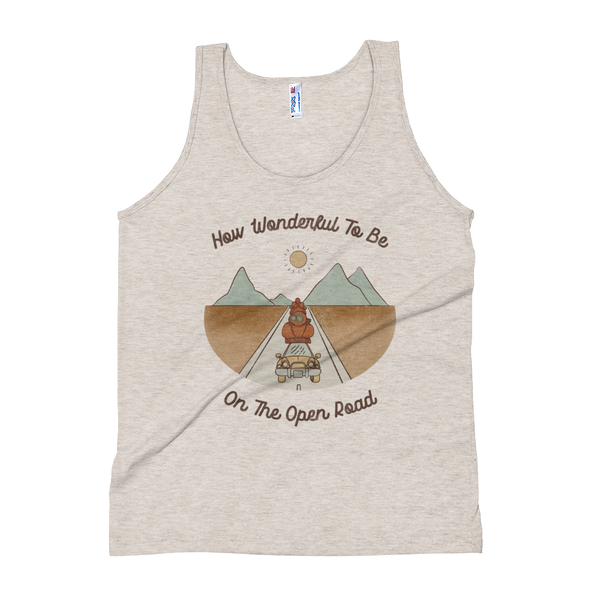 On The Open Road Triblend Tank -2 color options