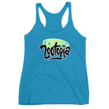 Zootopia Triblend Racerback Tank - 2 color options