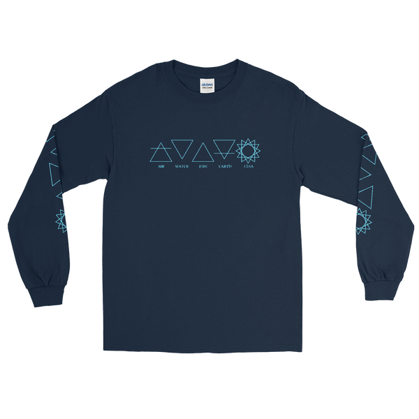 Harmonious Elements Long Sleeve Tee