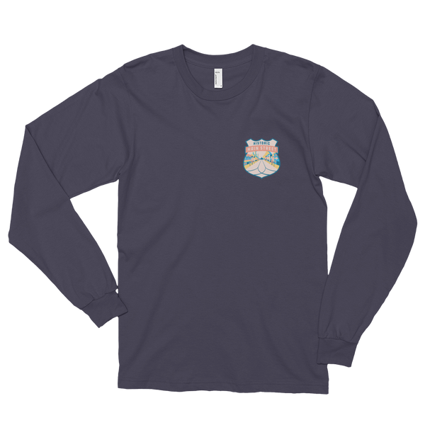 Lands Badges Long Sleeve Tee