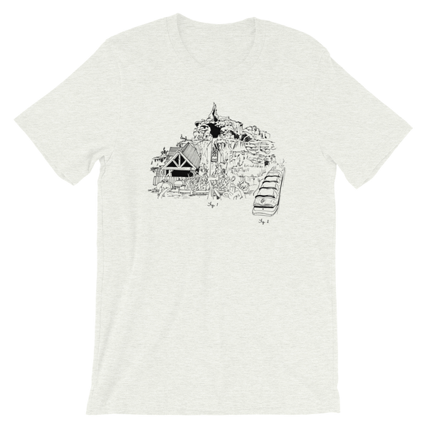 Zip-A-Dee River Run Sketch Tee