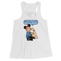 We Can Do It Women's Flowy Racerback Tank -2 color options