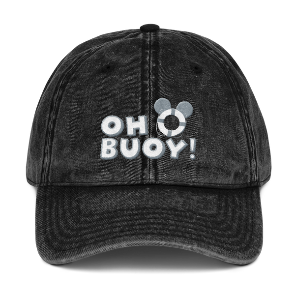 Oh Buoy Vintage Twill Hat