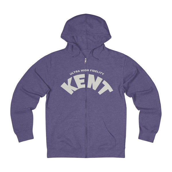 KENT Records Unisex French Terry Zip Hoodie