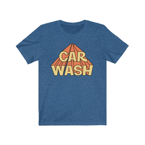Car Wash Unisex Jersey Short Sleeve Tee