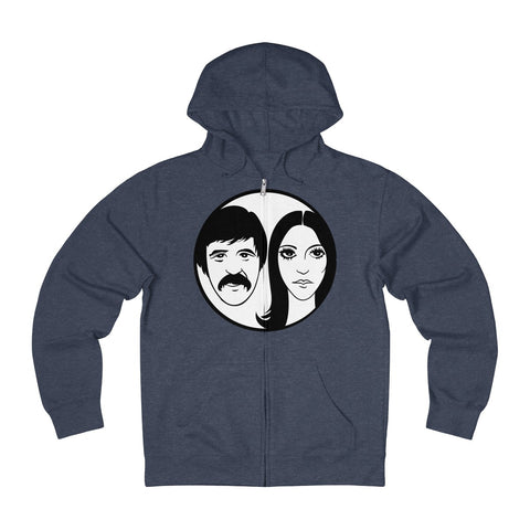Sonny and Cher Unisex French Terry Zip Hoodie