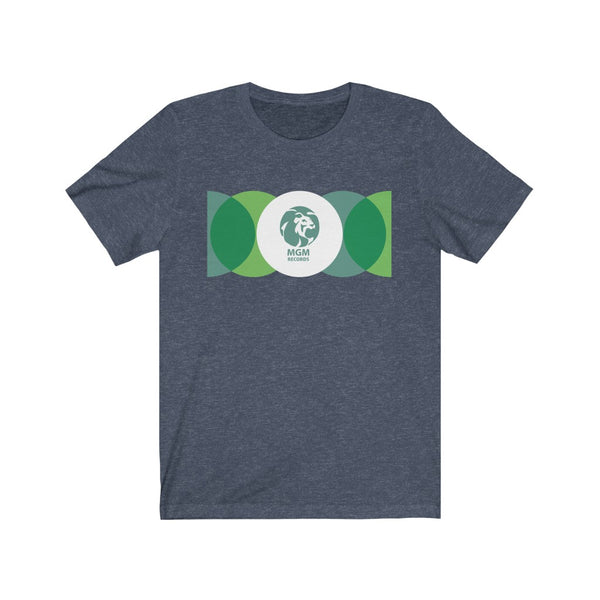 MGM 45 Record Sleeve Unisex Jersey Short Sleeve Tee