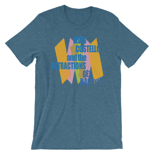 Elvis Costello Get Happy Short-Sleeve Unisex T-Shirt