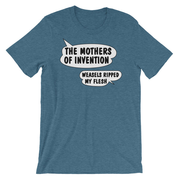 The Mothers of Invention Weasels Ripped My Flesh Short-Sleeve Unisex T-Shirt