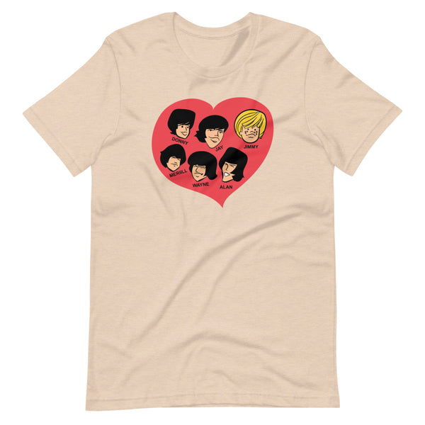 OSMONDS HEART Short-Sleeve Unisex T-Shirt