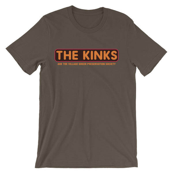 KINKS Unisex short sleeve t-shirt