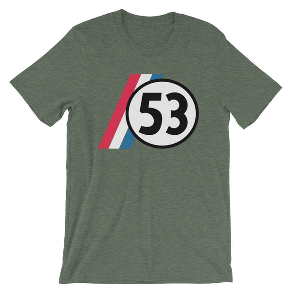 Drag Racing Number 53 Short-Sleeve Unisex T-Shirt
