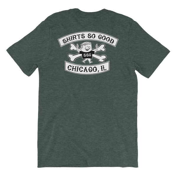 Shirts So Good -TWO-SIDED!  Short Sleeve Unisex T-Shirt