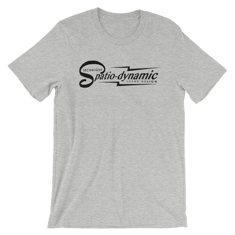 Spatio-dynamic Sound Design Short-Sleeve Unisex T-Shirt