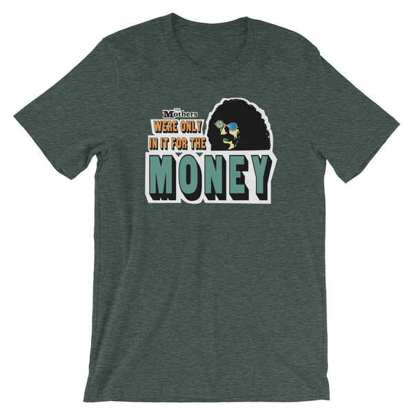 The Mothers of Invention We're Only in It for the Money Short-Sleeve Unisex T-Shirt