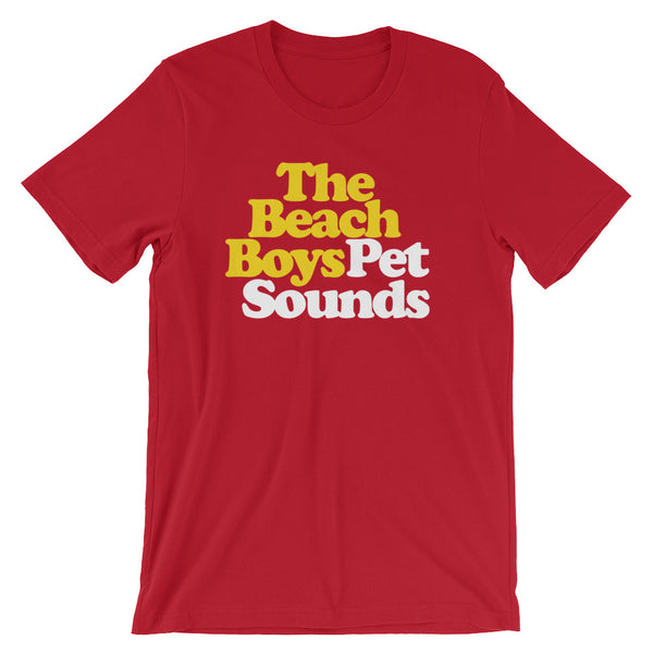 The Beach Boys Pet Sounds Short-Sleeve Unisex T-Shirt