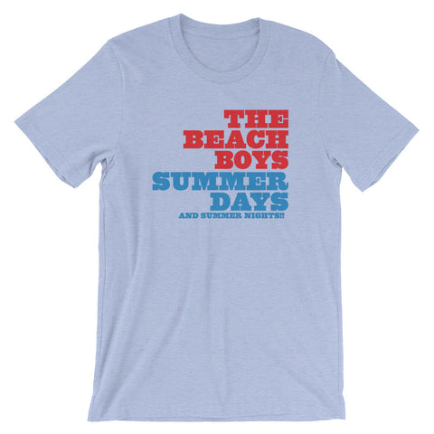 Beach Boys Summer Days Short-Sleeve Unisex T-Shirt