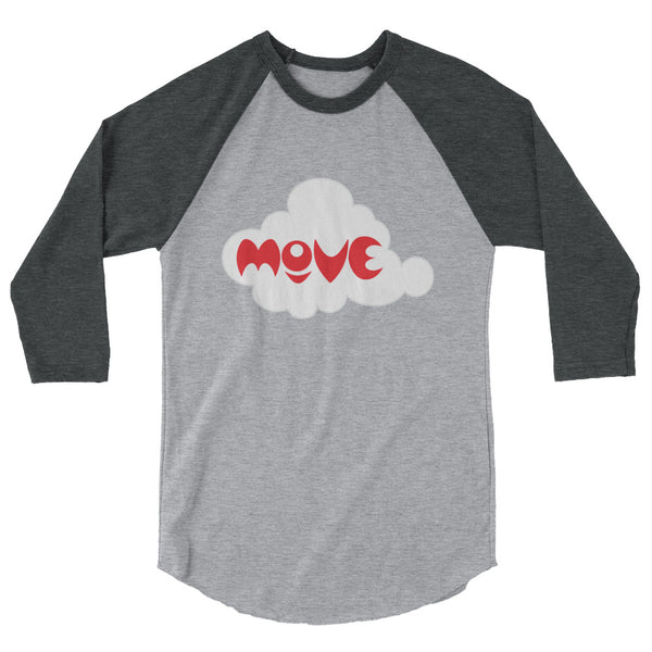 MOVE 3/4 sleeve raglan shirt