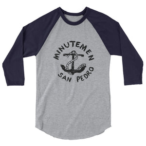 The Minutemen San Prdro 3/4 sleeve raglan shirt