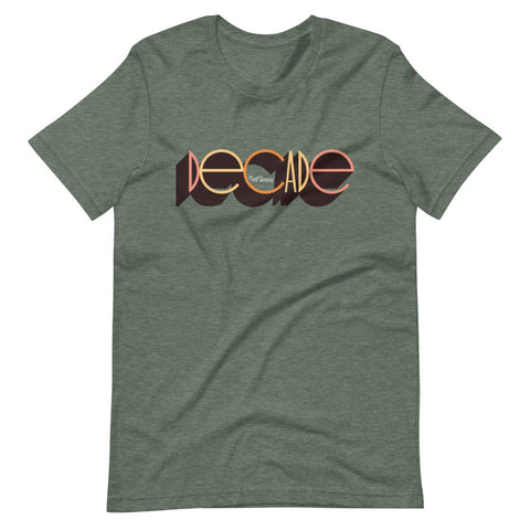 DECADE Short-Sleeve Unisex T-Shirt