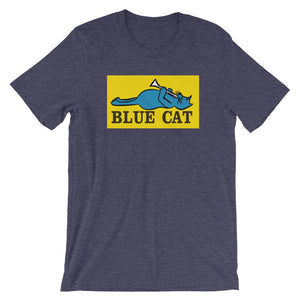 Blue Cat Records Short-Sleeve Unisex T-Shirt