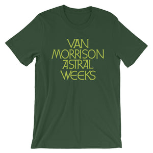 Van Morrison Astral Week (Green) Short-Sleeve Unisex T-Shirt