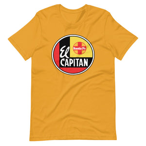 El Capitan Railway Line Short-Sleeve Unisex T-Shirt