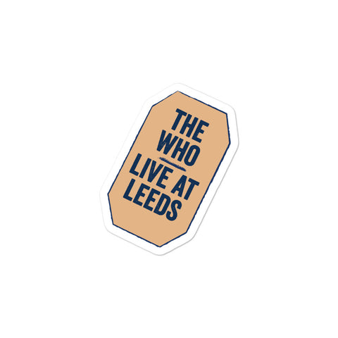 Live At Leeds Bubble-free stickers