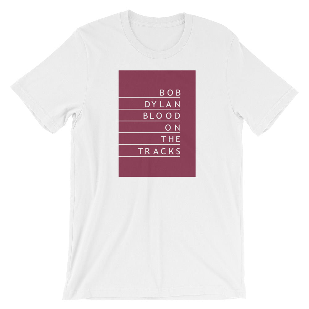 Blood On The Tracks Short-Sleeve Unisex T-Shirt