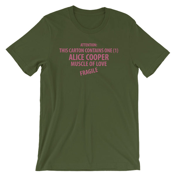 Alice Cooper Muscle Of Love Short-Sleeve Unisex T-Shirt