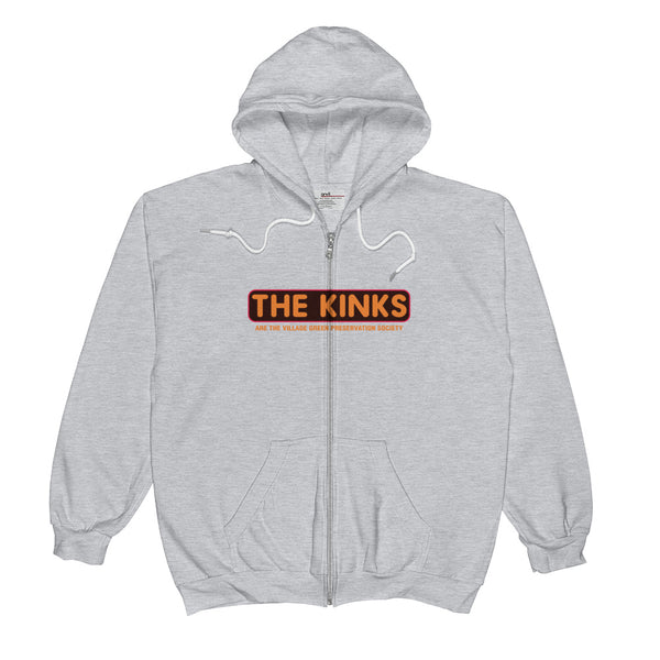 The Kinks Unisex  Zip Hoodie