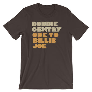 Bobbie Gentry Ode To Billie Joe Short-Sleeve Unisex T-Shirt