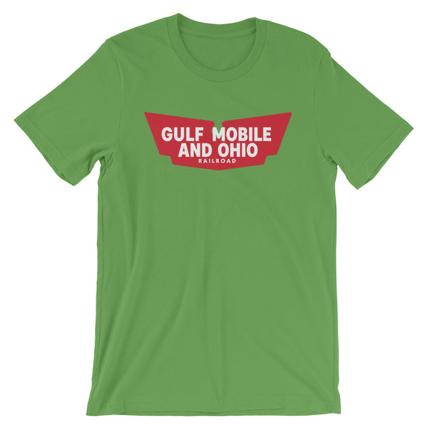 Gulf Mobile And Ohio Railroad Short-Sleeve Unisex T-Shirt