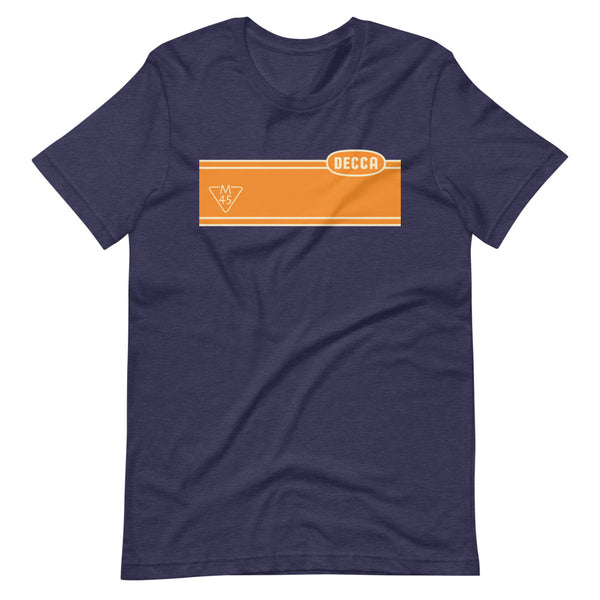 DECCA M45 Stripe Short-Sleeve Unisex T-Shirt