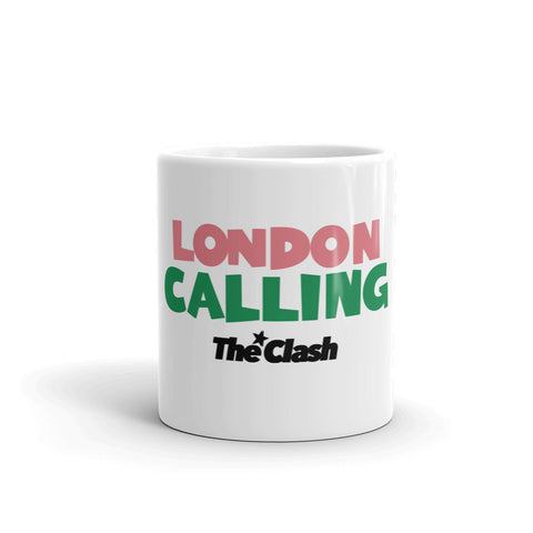 The Clash London Calling Coffee Mug