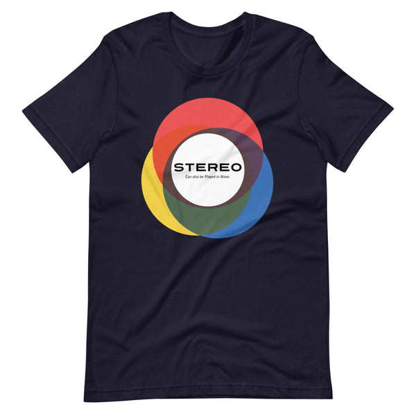 STEREO Circles Short-Sleeve Unisex T-Shirt